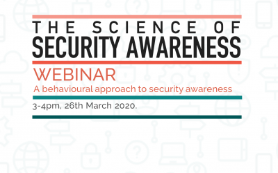 Science of Security Awareness Webinar